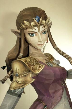 Princess Zelda, made by Deviart artist minidelirium