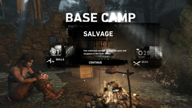 Base Camps serve the dual purpose of upgrading skills/weapons as well as acting as a fast travel once you discover enough of them.