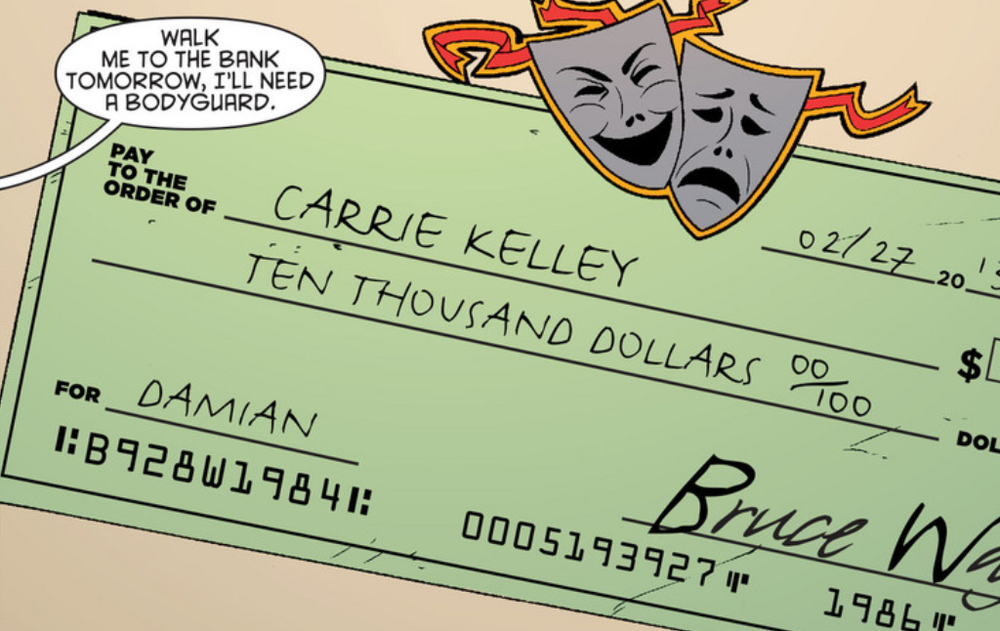 Pay to the Order Of CARRIE KELLEY