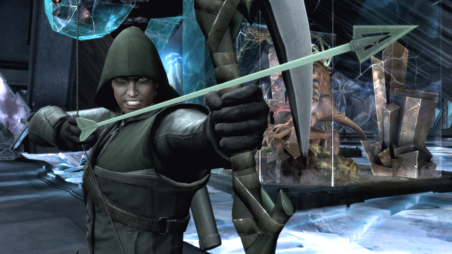 "Stephen Amell lends his voice and likeness to the ""Arrow"" skin"
