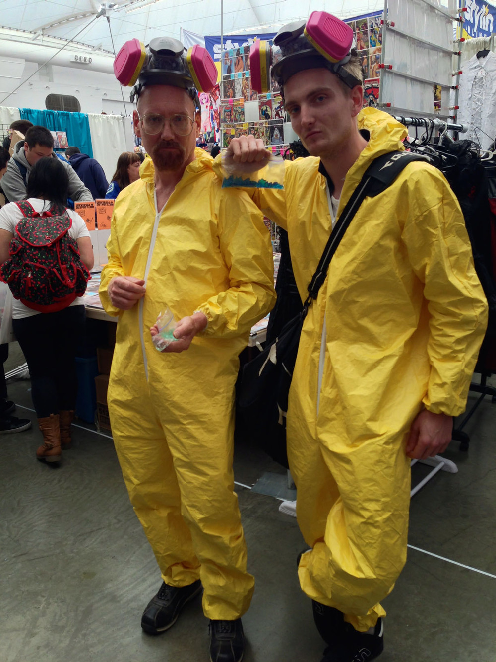 Walter White and Jesse Pinkman (Breaking Bad)