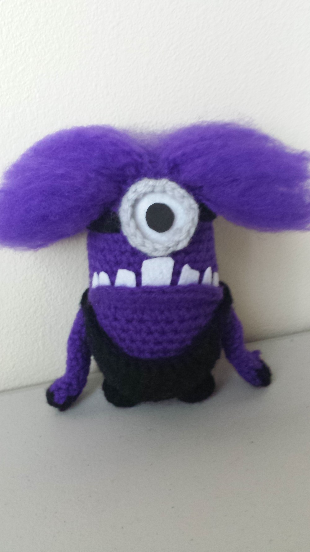 Despicable me 2 evil minion crochet hair tutorial lifted geek 20130629103111g bankloansurffo Image collections