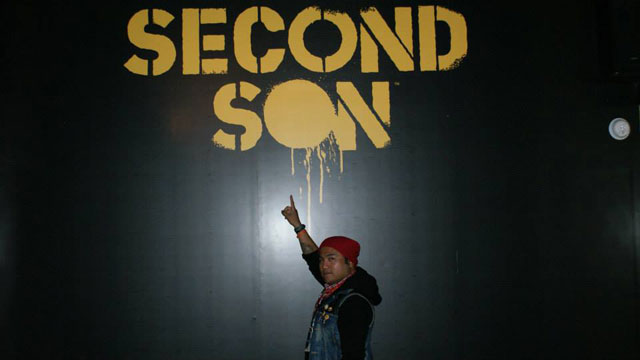 it's your boy Justin Prince as Delsin Rowe from inFAMOUS: Second Son .