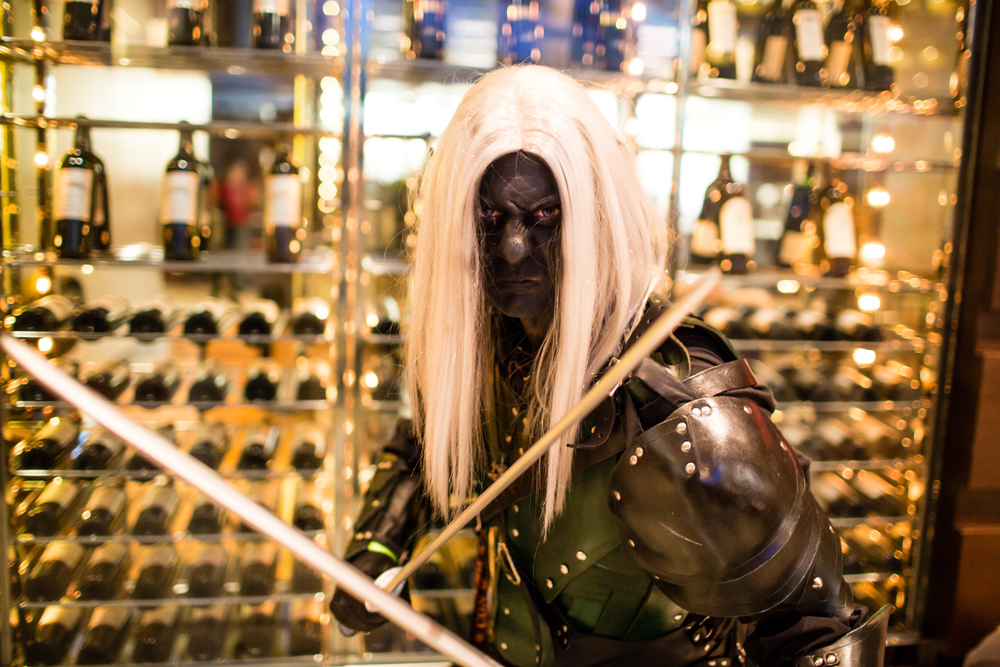 Dark Elf, Drizzt Photography by Chris Kwock