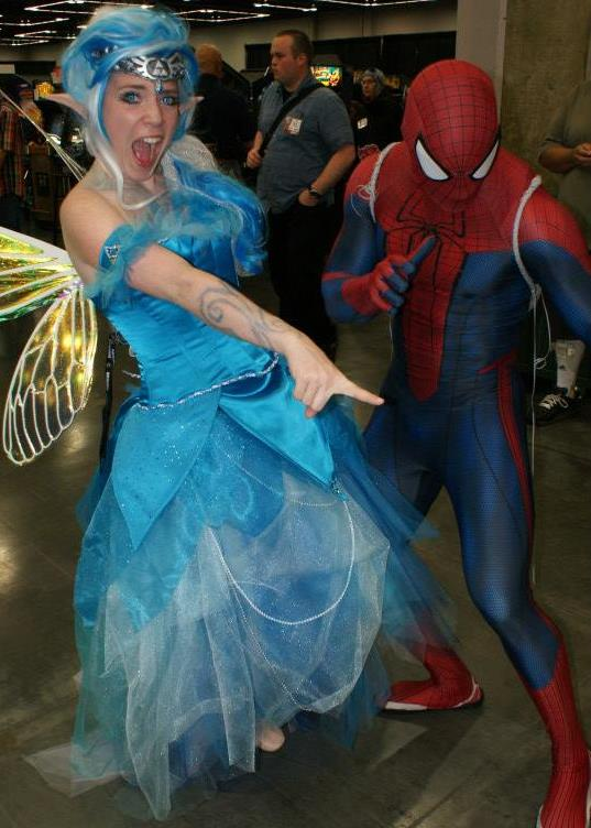 Link's Blue Fairy & Spider Man