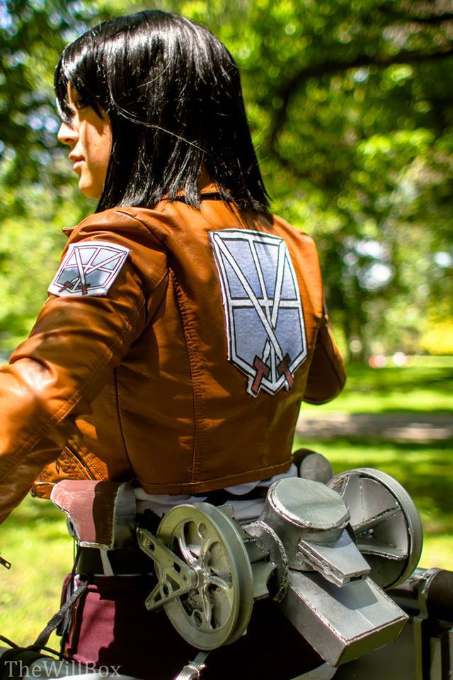 Stephanie Guzman as Mikasa Ackerman 2.jpg