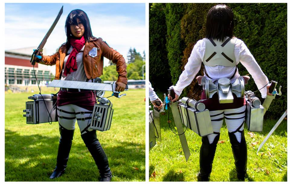 Stephanie Guzman as Mikasa Ackerman 1.jpg
