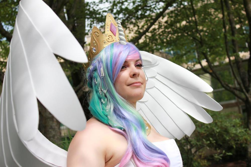 Princess Celestia Cosplay photographed by Ninja Photography