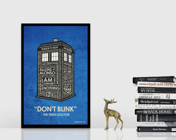Doctor Who Quote Poster Picture from https://www.etsy.com/shop/UnikoIdeas