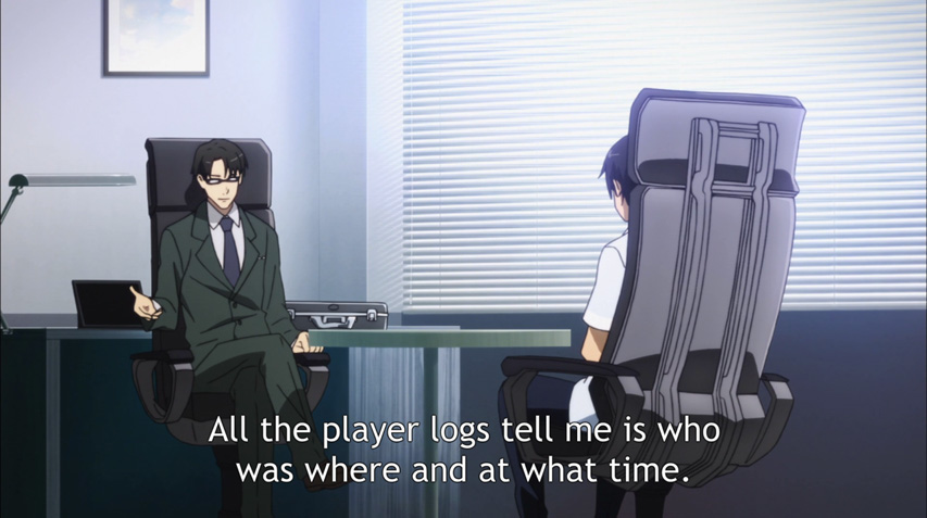 While Kirito is interviewed about SAO and ALO...