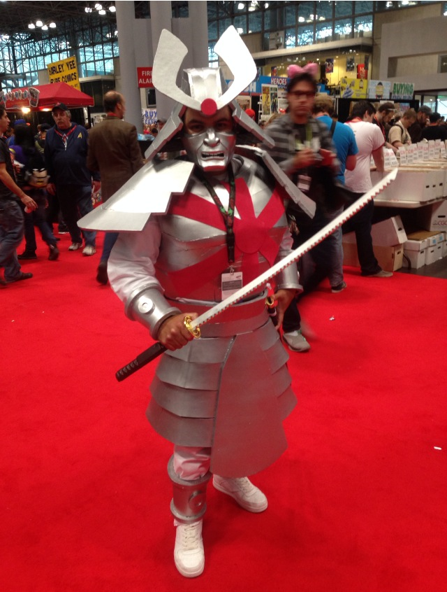 Silver Samurai by Ray