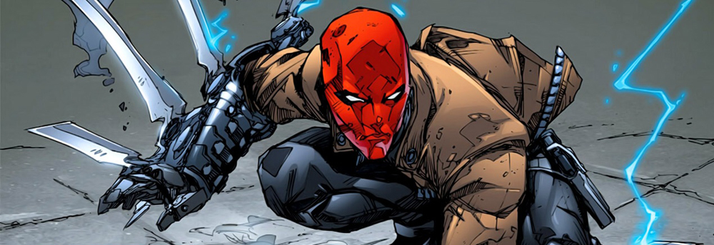 Red Hood/Jason Todd as he appears in the New 52