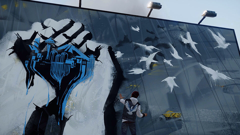 Delsin Rowe: an Akomish native with love for graffiti and being a badd ass Conduit
