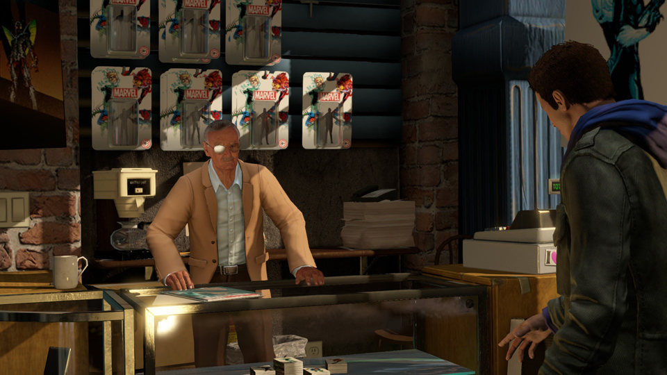 I guess Stan Lee makes cameos in games now?