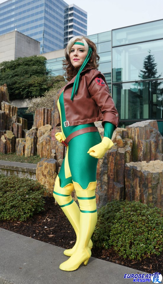 Photography by Eurobeat Kasumi  sc 1 st  Lifted Geek & Cosplay Wednesday: 90u0027s Rogue by Abi Sue Cosplay u2014 Lifted Geek