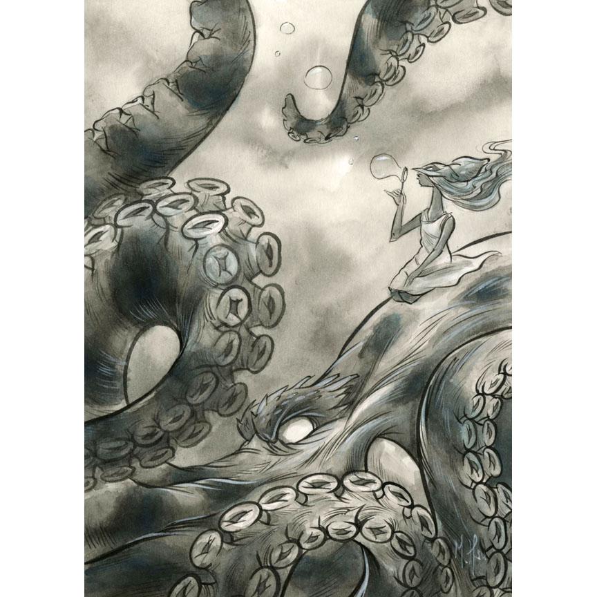 Martin Hsu Mystifying Kraken