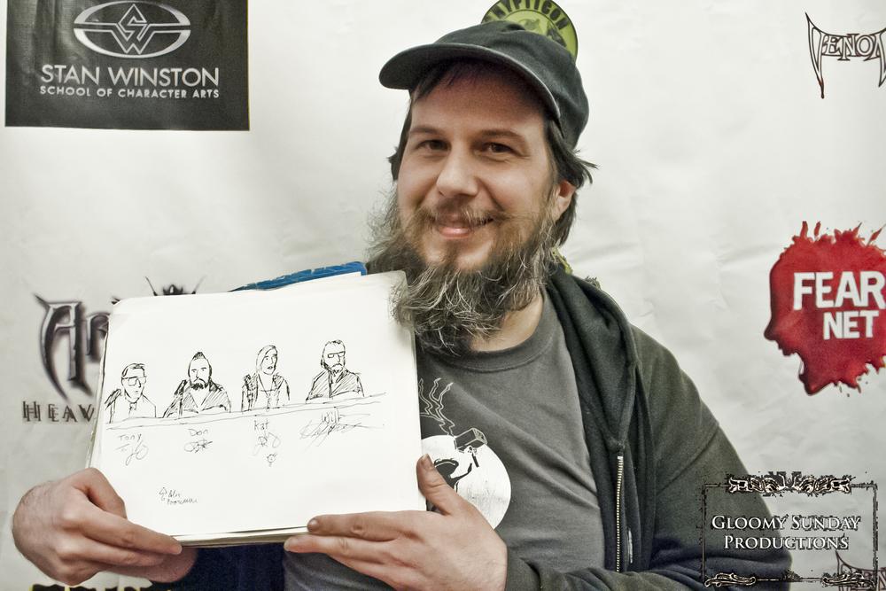 ThunderFrog Studio's artist Alex Poorman.