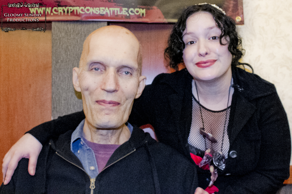 Carel Struycken and M.NessK