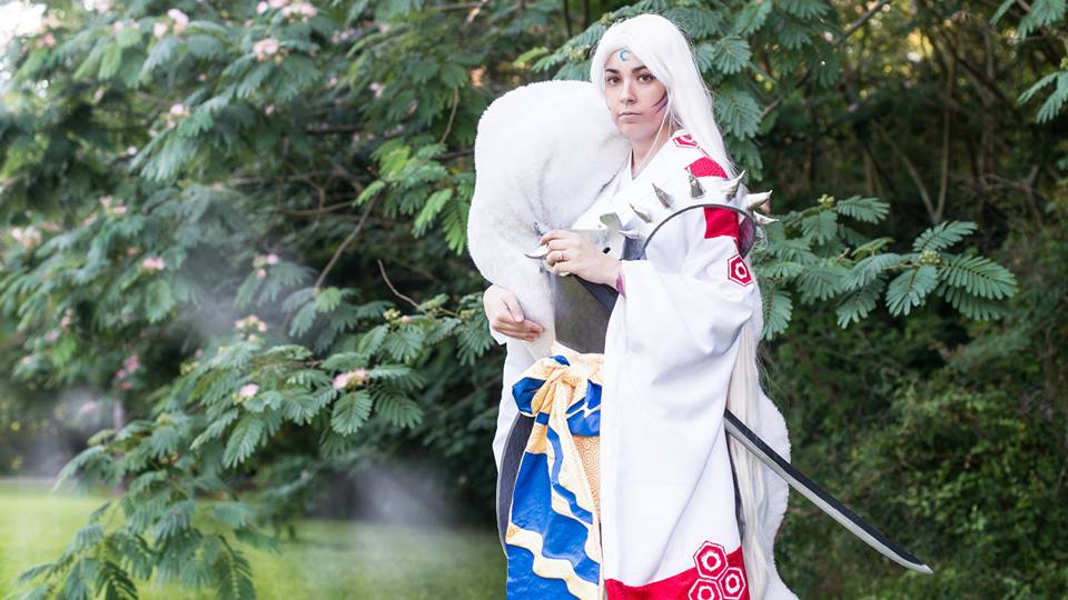 One of my more advanced costumes, Sesshoumaru (photo credits: Ryan Barouque