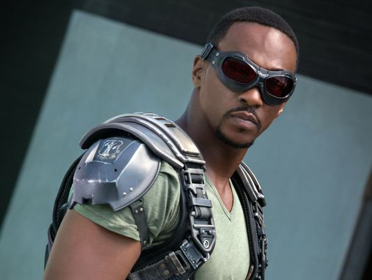 "Anthony Mackie as Sam ""Falcon"" Wilson"