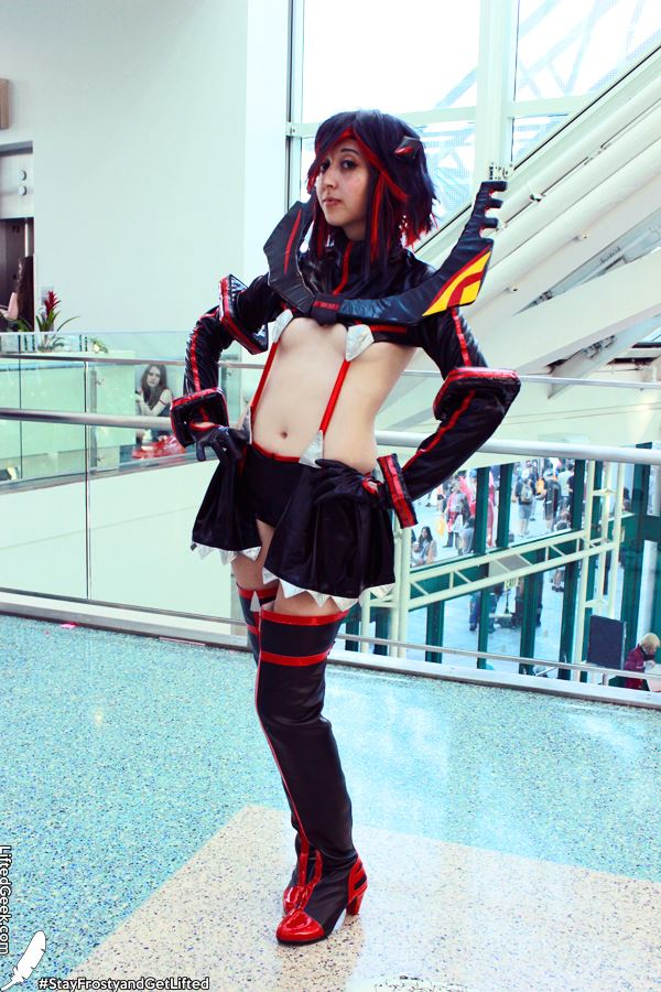 Kill la Kill was definitely well represented at AX