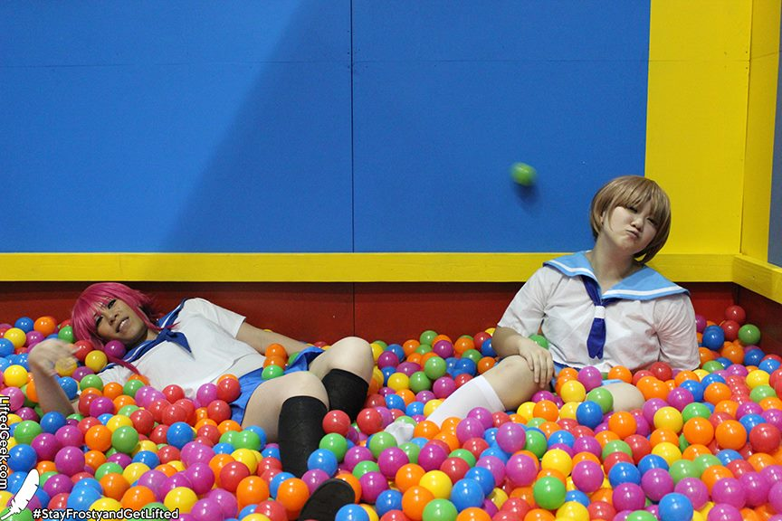 Dash-Con can learn a thing or two from this ball pit