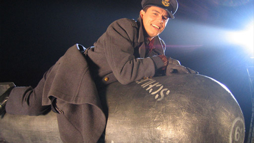 Yes. That's him. The man riding the bomb... Beautiful, isn't he?