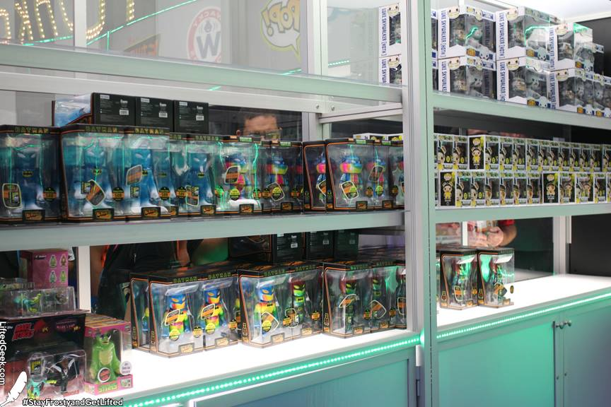 the Hikari exclusives at SDCC from Funko... the Batman figures were limited to 500 each with the Leonardo one limited at 300