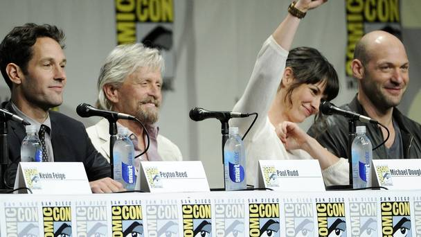 Michael Douglas at the Ant Man panel at SDCC2014