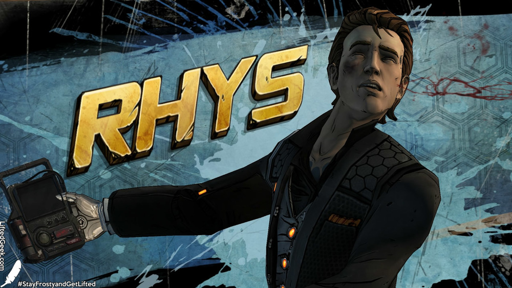 meet Rhys our somewhat unfortunate hero