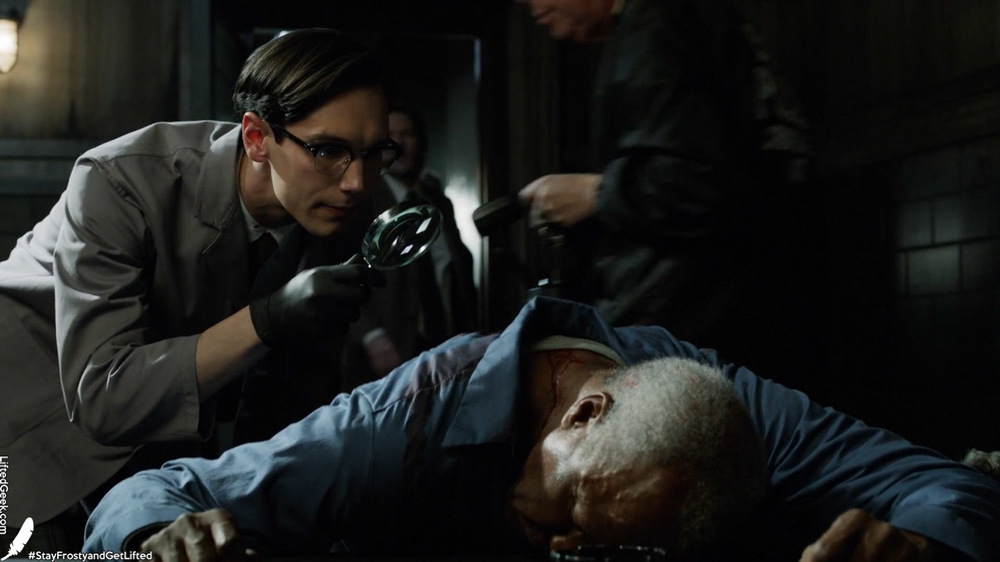 Edward Nygma prominently appears this episode