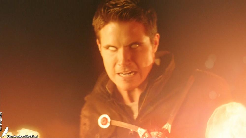 I... am... FIRESTORM!