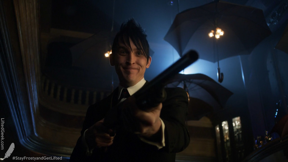 chuckle Penguin... chuckle and be your murderous self