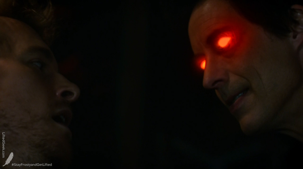 Eobard Thawne being a serious dick to his ancestor