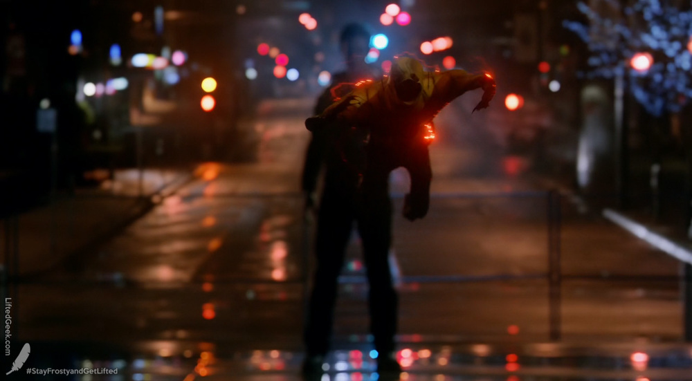 Eobard Thawne ejecting his suit from his ring!