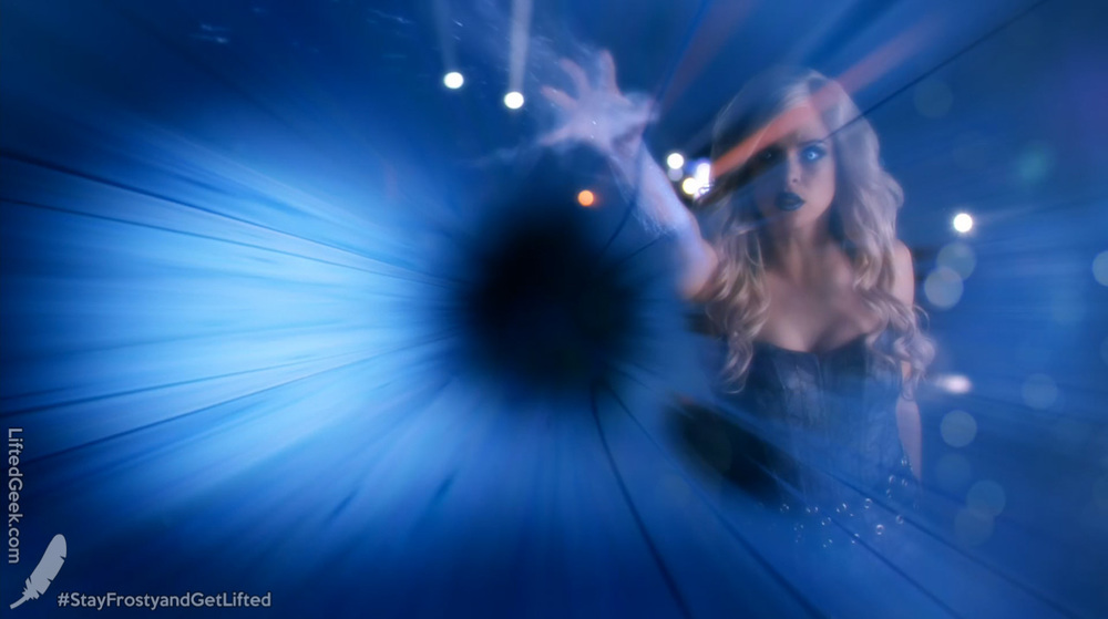 first official shot of Killer Frost