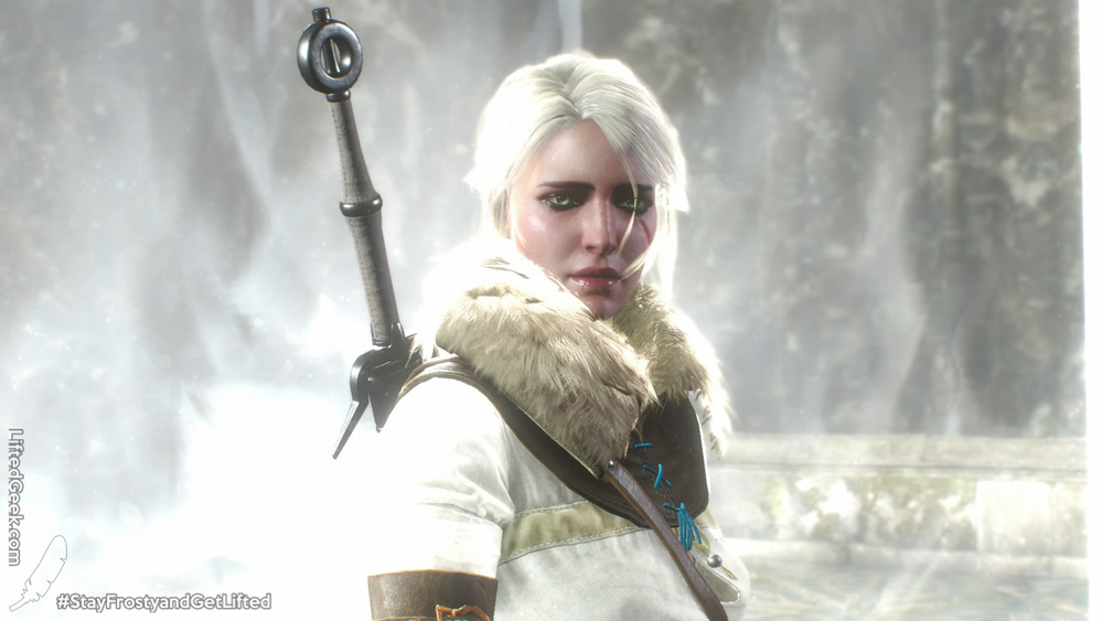 the tale is just as much Ciri's as it is Geralt's