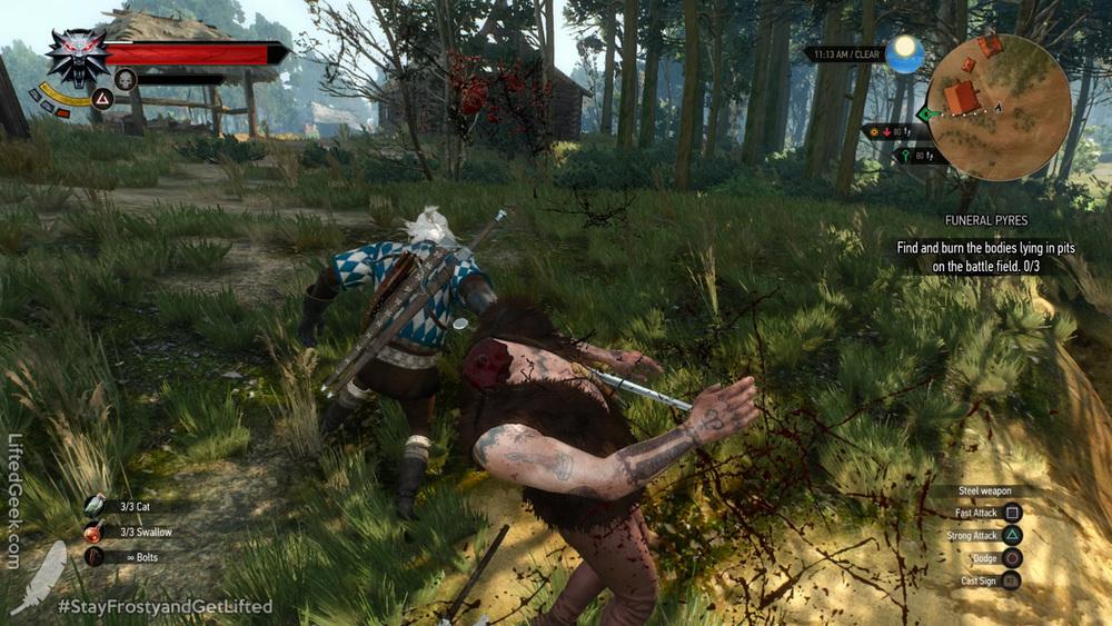 visceral combat!