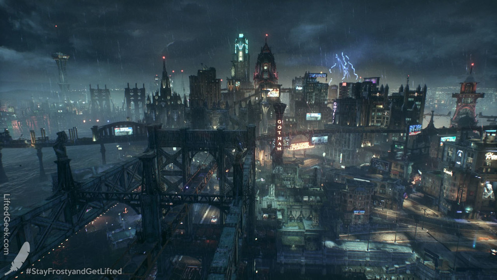 Gotham is huge