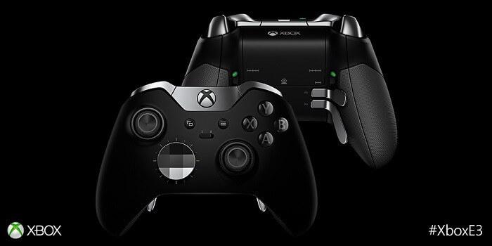 the Xbox Elite Controller
