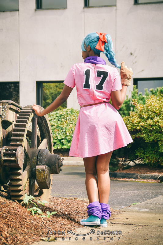 Jordan as Bulma (DBZ) Photo Credits: Jason DeSomer