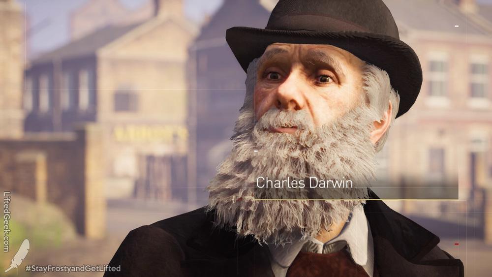 Charles Darwin, naturally
