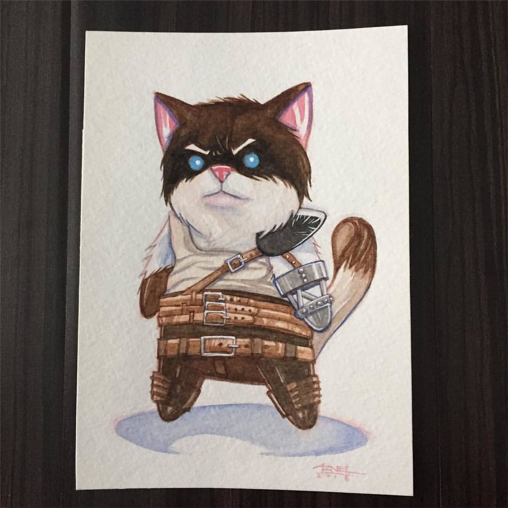 Furryosa from Mad Max Image by Ninjabot