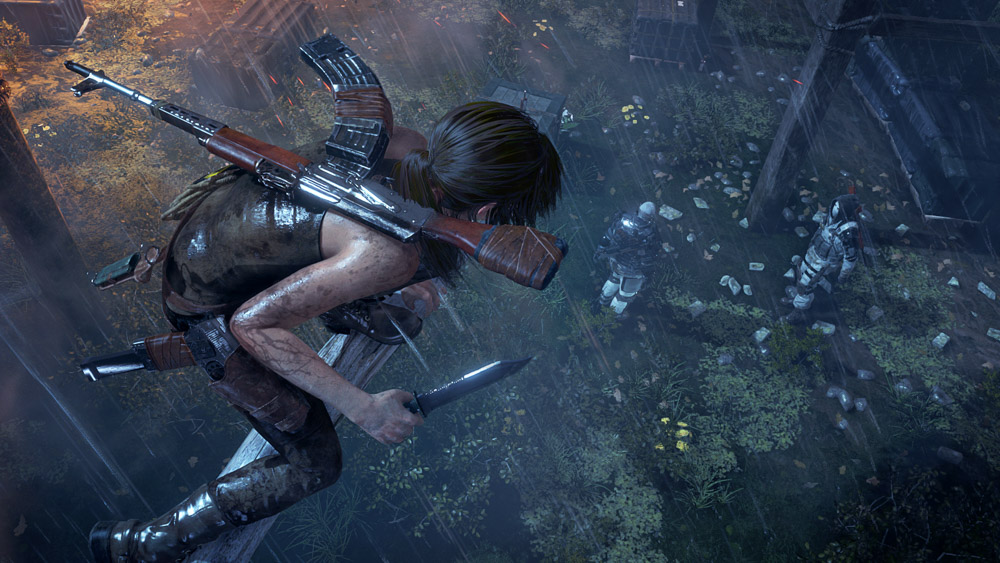 stealth combat is incredibly improved upon from 2013's  Tomb Raider