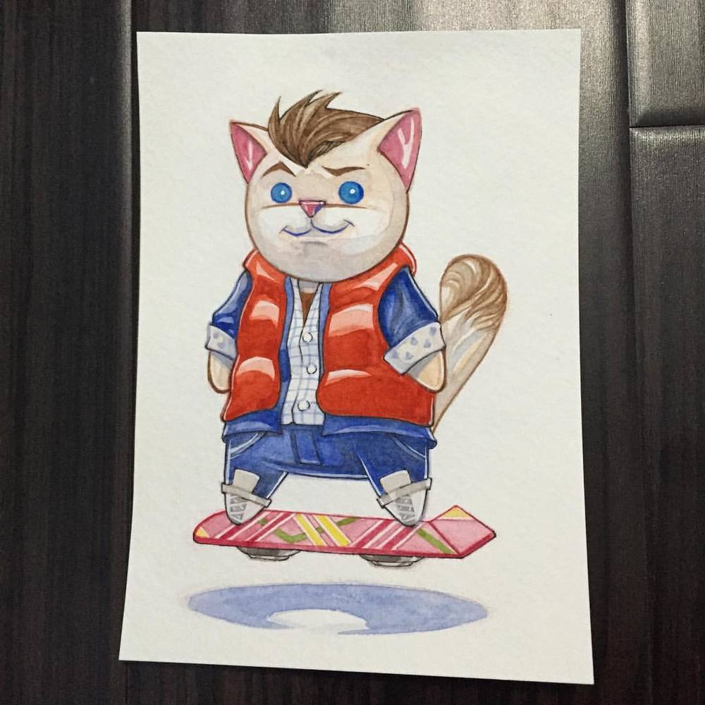 Kitty McFly Image by Ninjabot