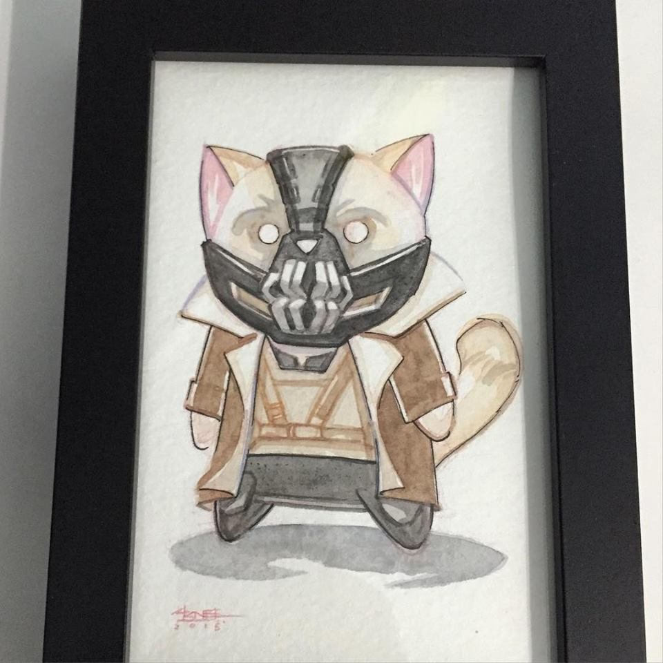 Bane Cat Image by Ninjabot