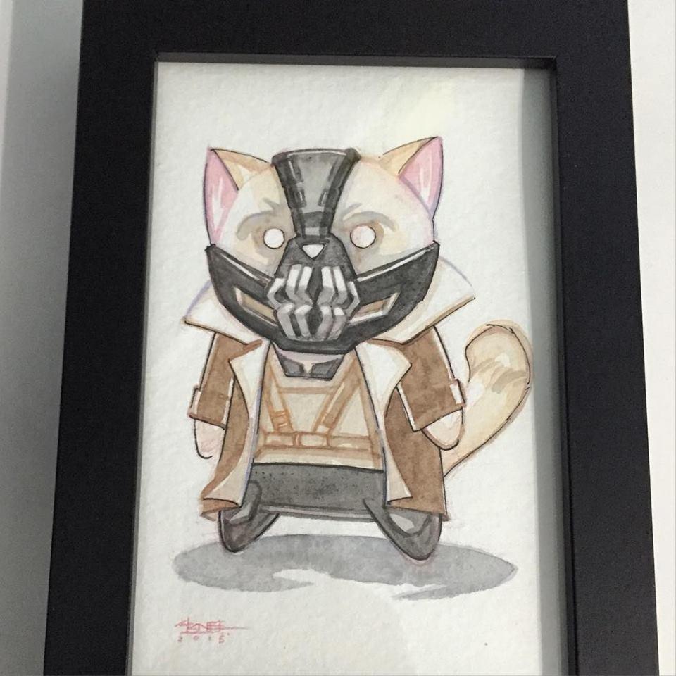 Bane Cat Image by Ninjabot