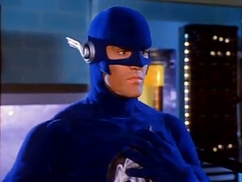 John Wesley Shipp playing Pollux in the 90s Flash TV series... he was like his Reverse Flash