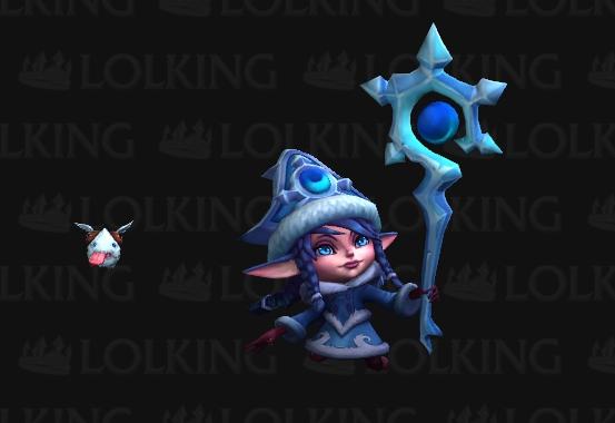 Paper Armory: League of Legend's Winter Wonder Lulu Staff ...