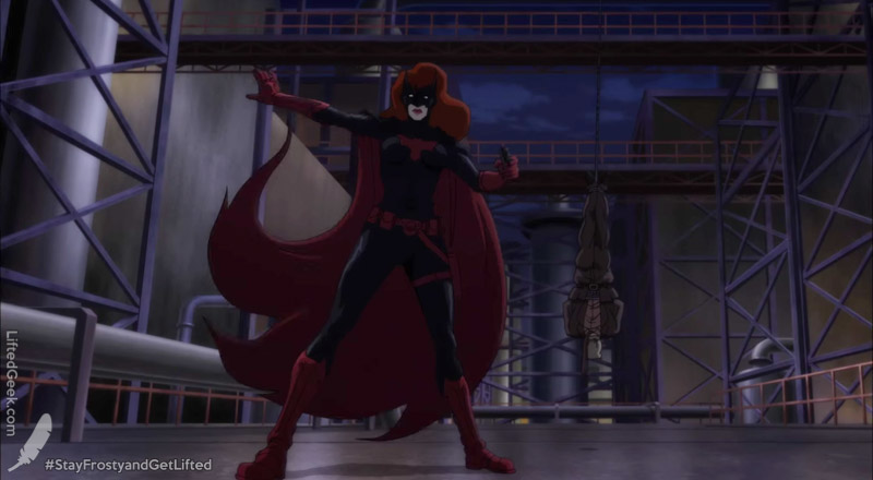 Batwoman makes her animated debut